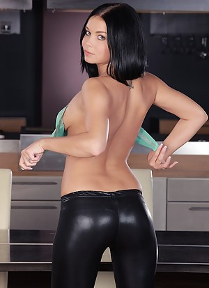 Big Ass Leather Porn Pictures